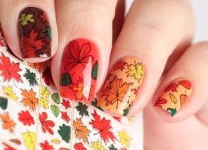 őszi körömdíszítési tipp